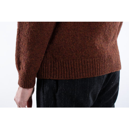 G.R.P. Firenze G.R.P. Firenze Sweater / Girocollo / Brown