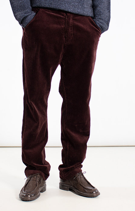 Hannes Roether Hannes Roether Trousers / Balda.755 / Eggplant