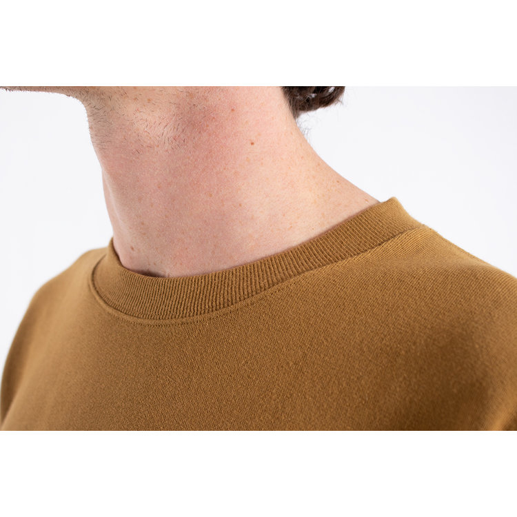 Universal Works Universal Works Sweater / Loopback / Mustard