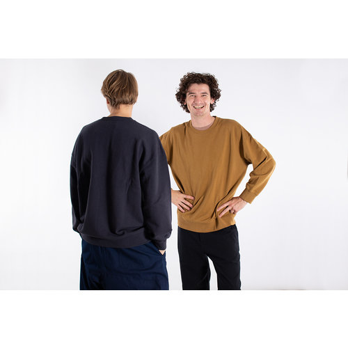 Universal Works Universal Works Sweater / Loopback / Navy