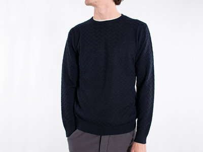 Bellwood Sweater / 329R0801 / Navy