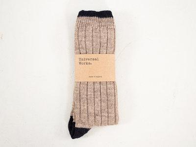 Universal Works Universal Works Sock / Hike Sock / Grey