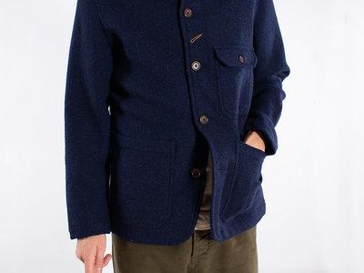 Universal Works Universal Works Jacket / Bakers Jacket / Blue