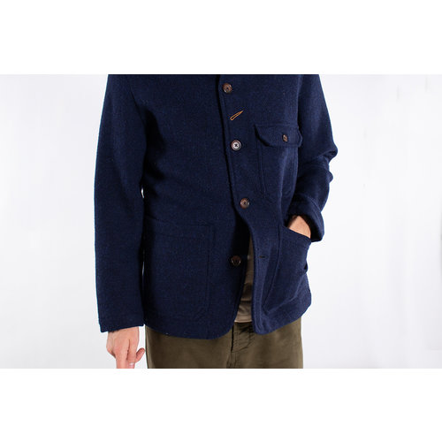 Universal Works Universal Works Jas / Bakers Jacket / Blauw