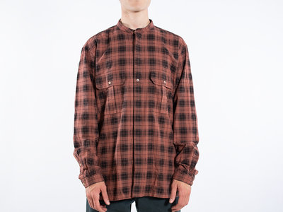 7d 7d Shirt / Fourty-Seven Check / Copper