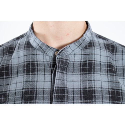 7d 7d Shirt / Fourty-Seven Check / Grey