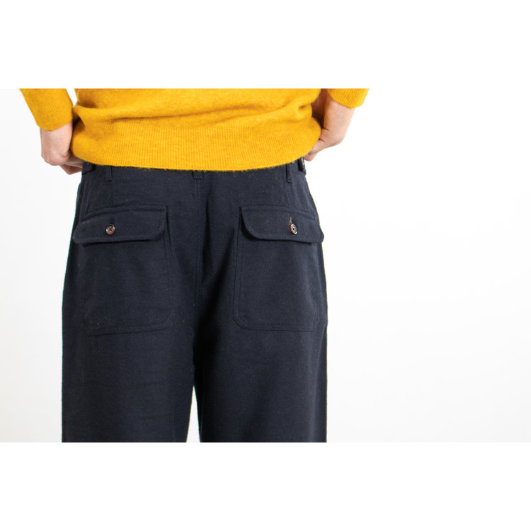 Universal Works Universal Works Trousers  / Loose Pant / Navy