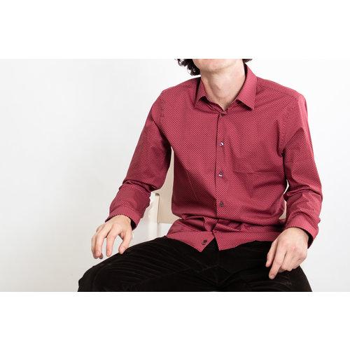 Strellson Strellson Overhemd / Sander / Rood