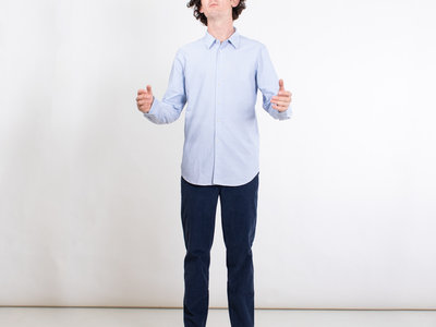 7d 7d Shirt / Fourty-Four Retro Stripe / Blue