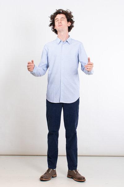 7d 7d Shirt / Fourty-Four Retro Stripe / Blue