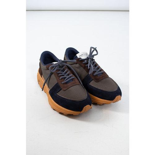 Mano Studio Mano Sneaker / Runner 02 / Bruin Blauw
