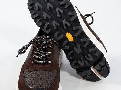 Mano Studio Mano Sneaker / Runner 02 / Donker Bruin