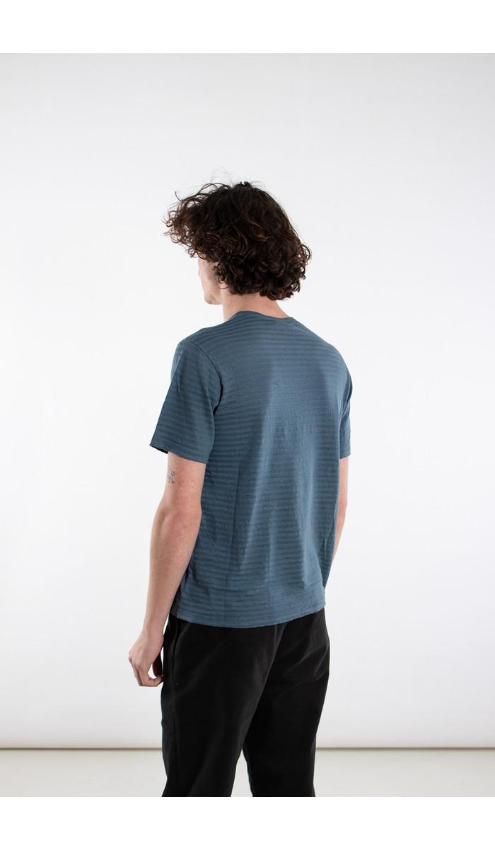 Roberto Collina Roberto Collina T-shirt / RC65021 / Blauw