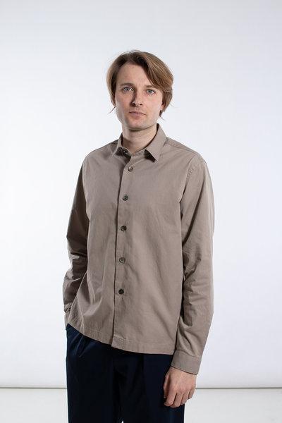 Delikatessen Delikatessen Overhemd / Relaxed Shirt / Beige