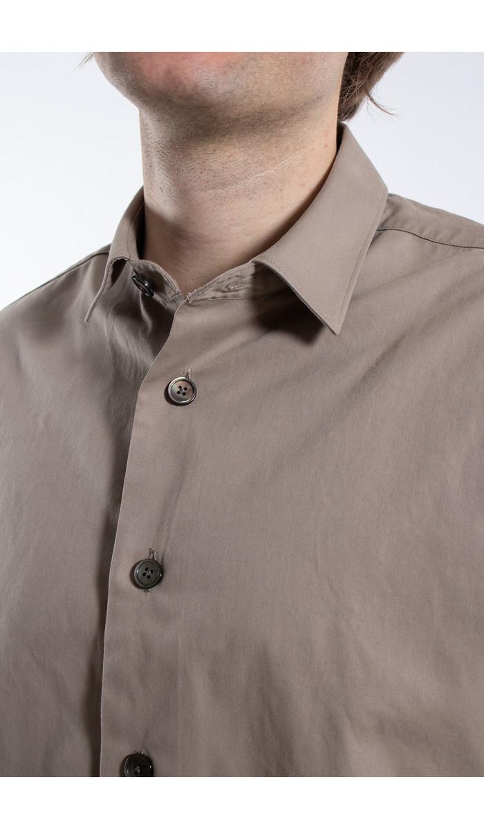Delikatessen Delikatessen Shirt / Relaxed Shirt / Beige