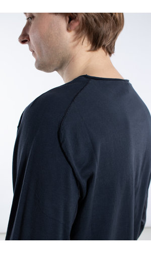 Transit Transit T-Shirt / CFUTRK1362 / Blauw