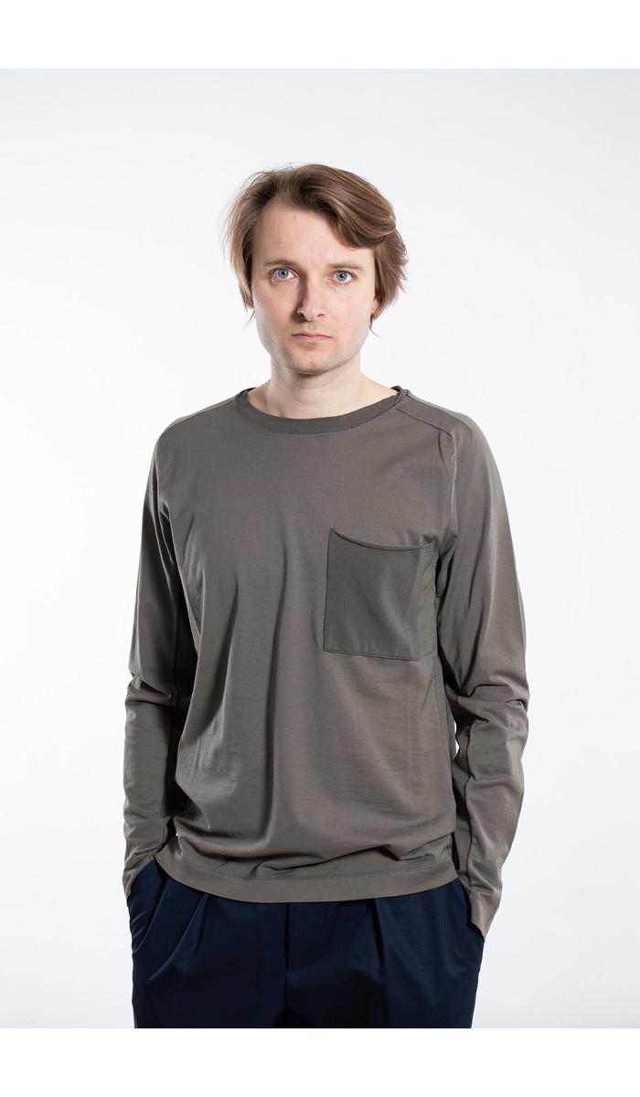 Transit Transit T-Shirt / CFUTRK1362 / Grijs