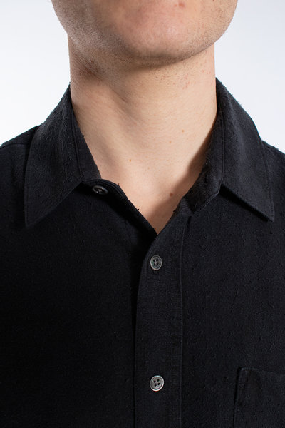 Our Legacy Our Legacy Overhemd / Classis Shirt / Zwart