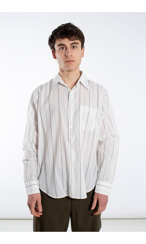 Our Legacy Our Legacy Overhemd / Policy Shirt / Wit