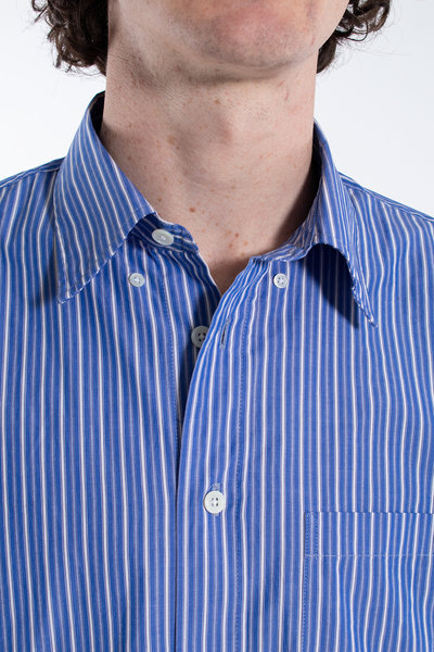 Our Legacy Our Legacy Overhemd / New BD Shirt / Blauw