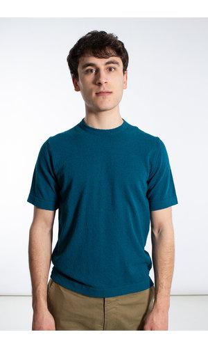 Mc Lauren McLauren T-Shirt / Bert / Cyaan
