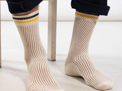 Alto Milano Alto Milano Sock / Crochet / White