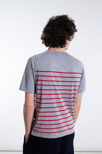 Mc Lauren Mc Lauren T-Shirt / Lindsay / Grijs