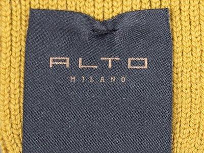 Alto Milano Alto Milano Sock / England Lungo / Yellow