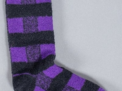 Alto Milano Alto Milano Sock / Scacco Corto / Purple