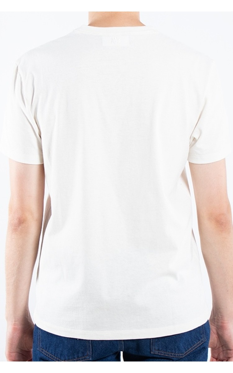Ami Ami / T-Shirt / E19J162.720 / Wit