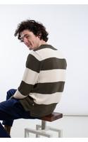 Castart Sweater / Humber / Green White