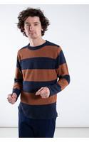 Castart Sweater / Humber / Rust Navy