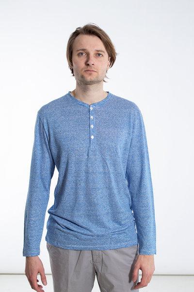 Schiesser Revival Schiesser Revival T-Shirt / Helmut / Lichtblauw