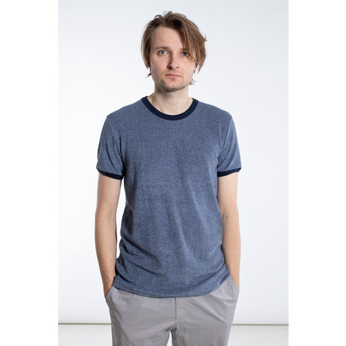 Schiesser Revival Schiesser Revival T-Shirt / Hartmut / Grijsblauw