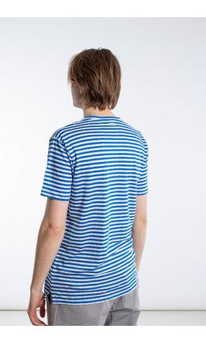 Schiesser Revival Schiesser Revival T-Shirt / Helmut / Blauw