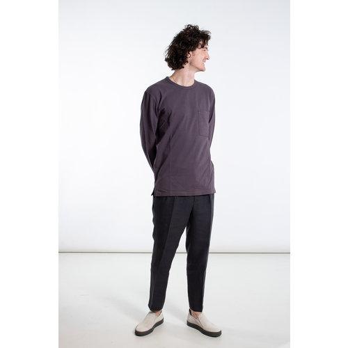 7d 7d T-Shirt / Seventy-One / Aubergine