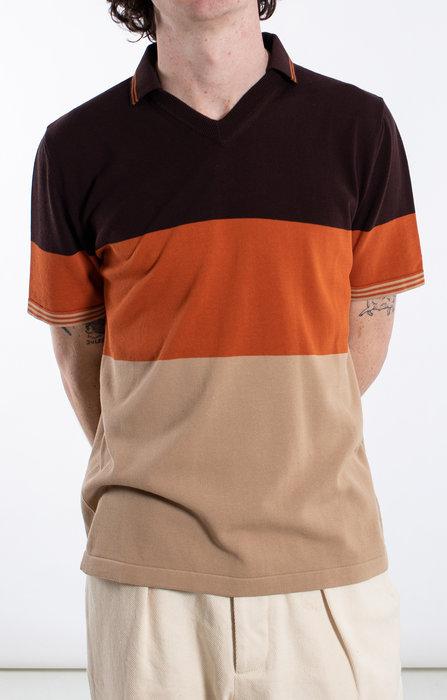 Roberto Collina Roberto Collina Polo / RC83024 / Oranje bruin