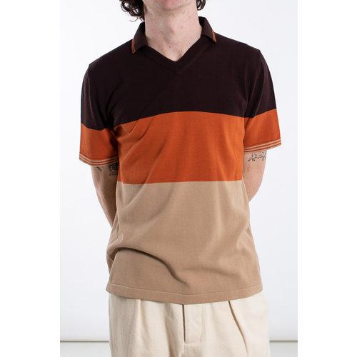 Roberto Collina Roberto Collina Polo / RC83024 / Orange brown