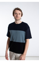 Roberto Collina T-shirt / RC54121 / Multi Blauw