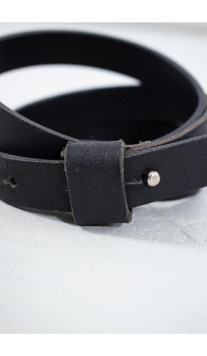 Anglo Belt / Stud buckle / Black
