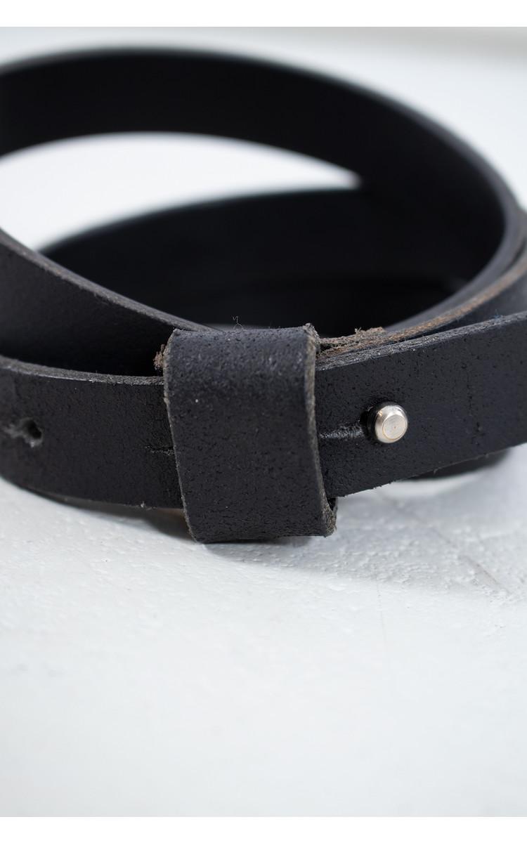 Anglo Riem / Druksluiting buckle / Zwart