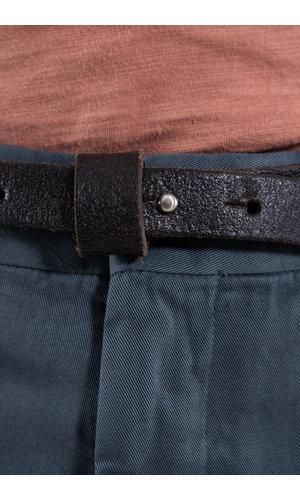 Anglo Belt / Stud buckle / Brown