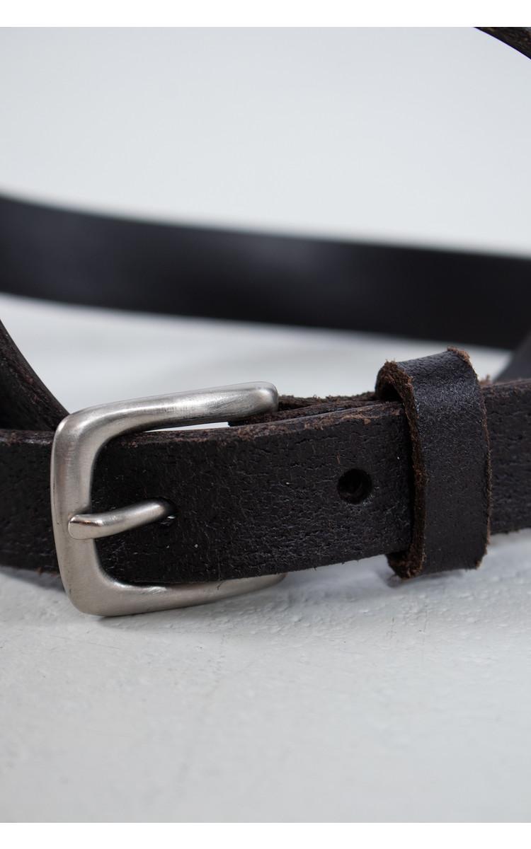Anglo Riem / Klassieke buckle / Bruin