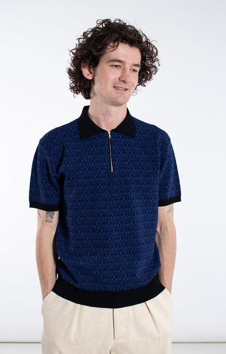 Roberto Collina Roberto Collina Polo Shirt / RC1024 / Blue
