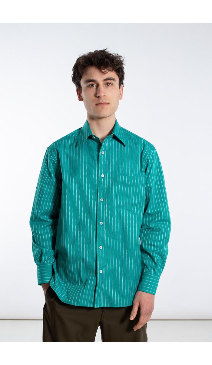 Marni Marni Overhemd / CUMU0142A0 / Groen