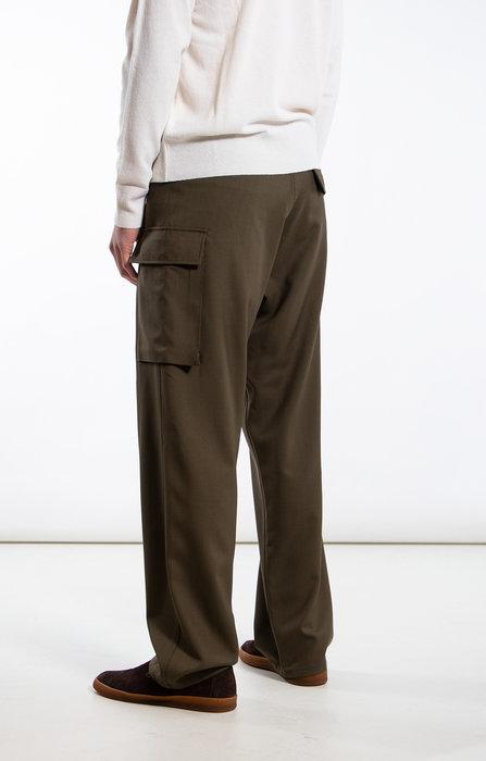 Marni Marni Trousers / PUMU0095O0 / Green