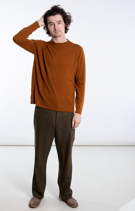 William Lockie William Lockie Sweater / Ho / Rust