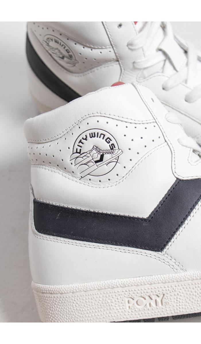 Pony Pony Sneaker / City Wings / White