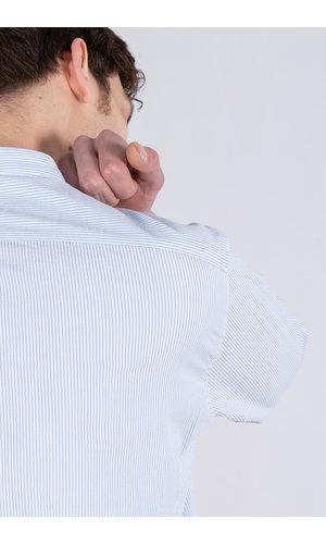 7d 7d Overhemd / Fourty / Blauw Streep