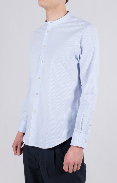 7d 7d Shirt / Fourty / Blue Stripe